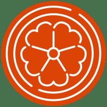 Orange OSU Master Gardener icon.