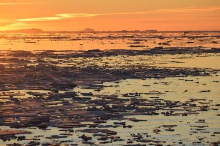 Sunset on the peninsula