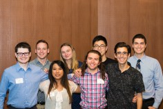 SURE Science scholars at 2017 Fall Awards