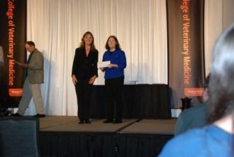 Marion-Polk Veterinary Association Scholarship - Sue Tornquist, Kyra Knutson