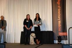 Portland Veterinary Medical Association Scholarship - Dr. Christina Keef, Marianne Pan