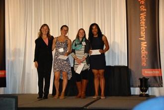 Bernard and Stephanie Zylewitz Scholarship - Sue Tornquist, Rebecca Turk, Rebecca Lulay, Gabrielle Wallace