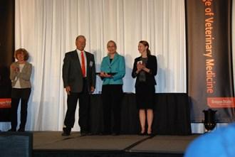 Zoetis Research Excellence Award - Mr. John Herkner, Dr. Jean Hall , Dr. Kristy Earley-Murray
