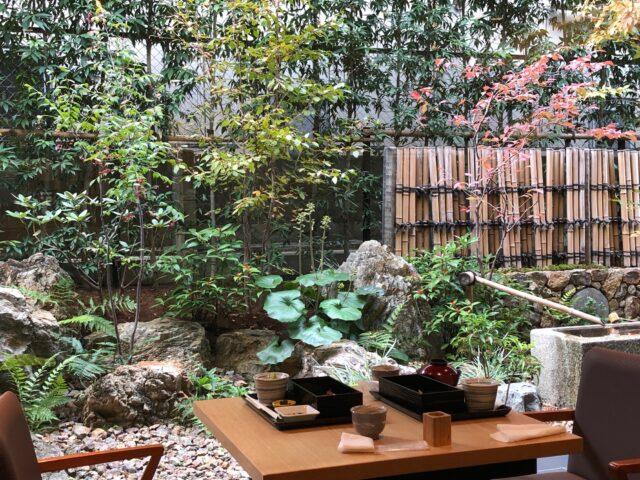 伊藤久右衛門カフェの庭
