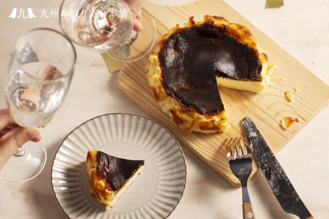 母の日スイーツギフト『バスクチーズケーキ』2