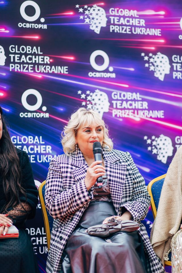 Переможницею Global Teacher Prize Ukraine 2019 стала Наталія Кідалова - вчителька з Мелітополя - GTPFF 3409