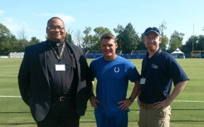 CATHOLIC CHAPLAIN INDIANAPOLIS COLTS FOOTBALL