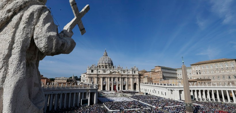 POPE CANONIZATION SAINTS VATICAN