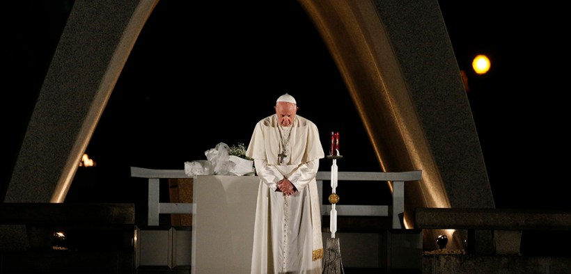 PAPAL JAPAN HIROSHIMA PEACE MEMORIAL