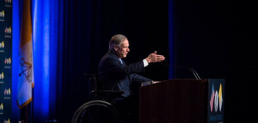 FILE TEXAS GOVERNOR ABBOTT