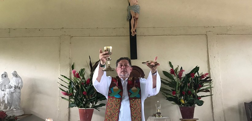 PRIEST AMAZON COLOMBIA MASS