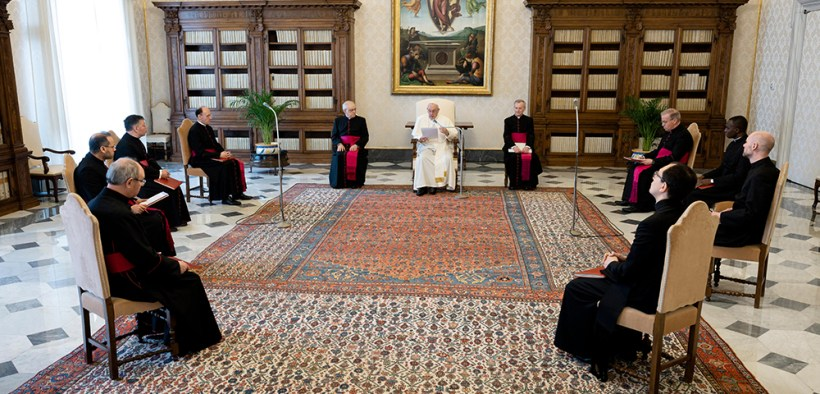 POPE MORNING AUDIENCE
