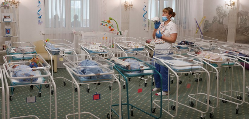 NEWBORNS UKRAINE SURROGACY