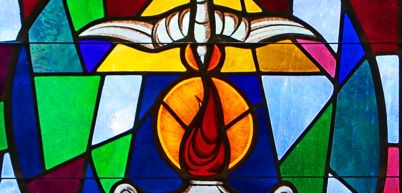 HOLY SPIRT STAINED-GLASS