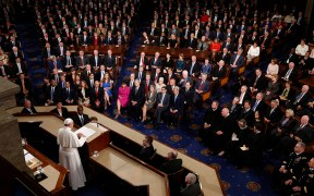 Pope Francis addresses joint meeting of Congress in Washington