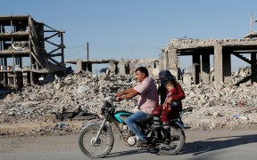 SYRIA DESTROYED BUILDINGS
