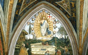 Fresco of 'The Resurrection' from Vatican's Borgia Apartments