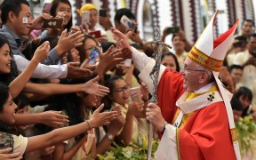 POPE MYANMAR MASS