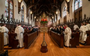 The chapel at the Dominican House
