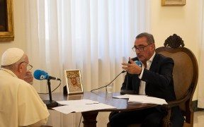 POPE INTERVIEW COPE