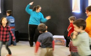 Jump and Jive with Jenny got many youngsters involved in fun activities.
