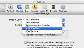 How to Change Audio Import Settings in iTunes on Mac & Windows