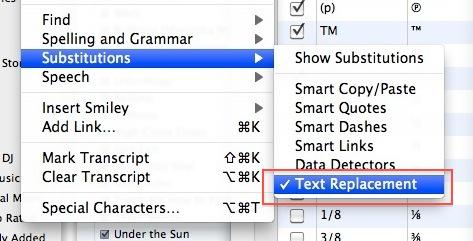 How do you make the tm symbol on a mac