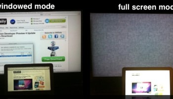 Use Multiple Monitors with Full Screen Apps in Mac OS X Lion