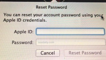Forgot Mac Password? How to Reset Your Mac Password (with or without CD)