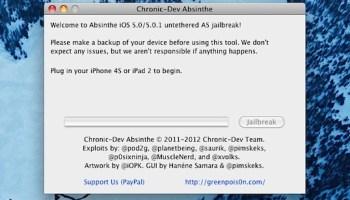 Absinthe 2 0 Jailbreak for iOS 5 1 1 Released [Download Links]