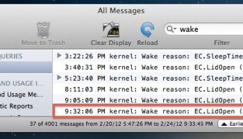 Determine Why Your Mac Wakes Up From Sleep
