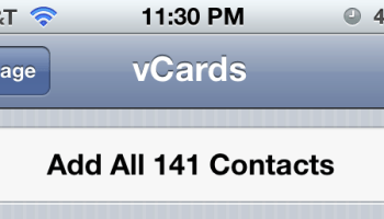 Transfer contacts from old phone to new Verizon iPhone with