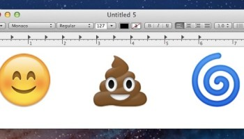 How to Stop Automatic Emoji Replacing Emoticons in Messages for Mac OS X