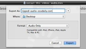 Run QuickTime Player 7 in Mac OS X Sierra, El Capitan