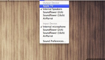 How to AirPlay Video from QuickTime Player in Mac OS X