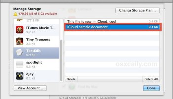 Manage delete icloud storage and backups from mac os x delete app data from icloud via mac os x ccuart Image collections