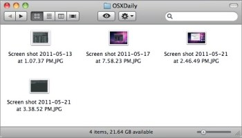 Screen capture in mac os x take better screen shots in mac os x with 6 pro tricks tips ccuart Images