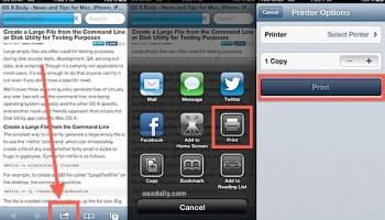 Print From The IPhone Or IPad To Any Printer Wirelessly