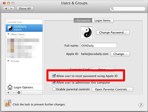 Don't be locked out because you forgot your Mac administrator username