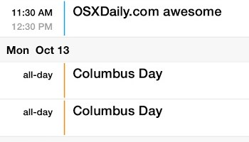 How to Remove Holidays from Calendar on iPhone & iPad | OSXDaily