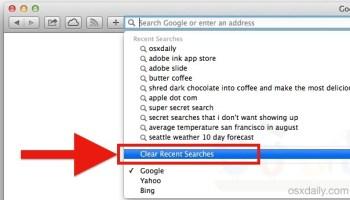 Clear Cookies in Safari on a Mac
