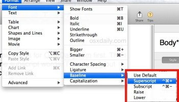 How to Type Degree Temperature Symbol in Mac OS X