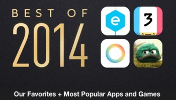 Apple Names Best Of 2011 for iTunes, Mac, and iOS App Stores