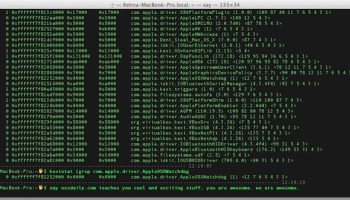 How to Install Kernel Extensions in Mac OS X Manually