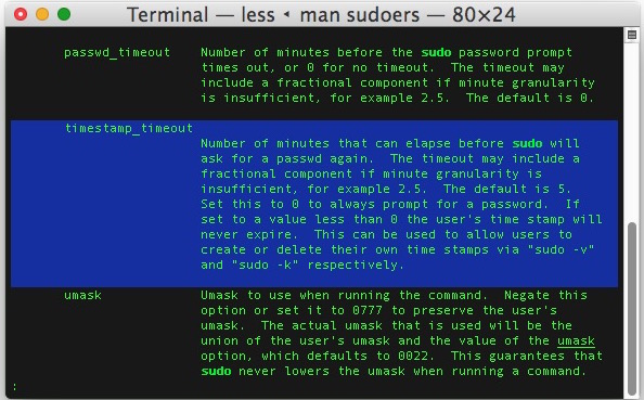 How to Add a User to the Sudoers File in Mac OS X
