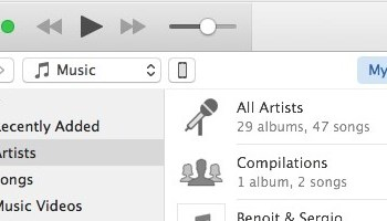 How to Select an iPhone or iPad in iTunes 12 6