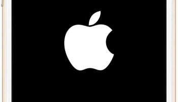apple logo white on black. iphone stuck on apple logo? here are 4 ways to fix logo white black a