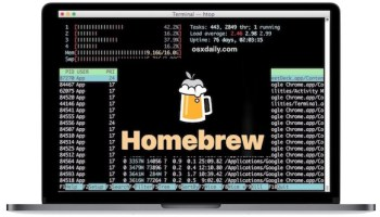 Get htop for Mac OS X to Watch & Manage System Resources