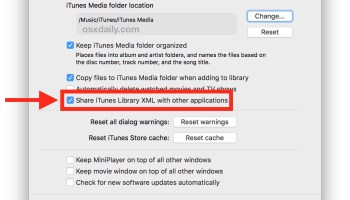 How to Delete iTunes From Mac OS X
