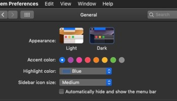 How to Use Light Theme with Dark Menu Bar and Dock in MacOS Mojave